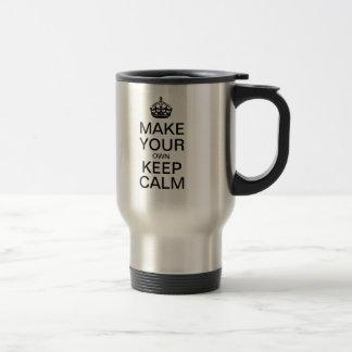 Lassen Sie Ihre Selbst ruhige Reise-Tasse behalten Reisebecher