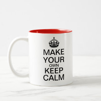 Lassen Sie Ihre Selbst ruhige Tasse behalten -