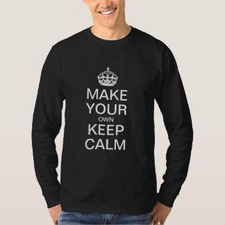 Lassen Sie Ihre Selbst ruhiges langes Sleeved T-Shirt