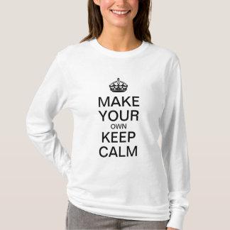 Lassen Sie Ihre Selbst ruhiges Shirt behalten -