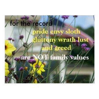 Lassen Sie Ihre Stimme gehört werden!  NICHT Postkarte