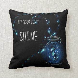 Lassen Sie Ihren hellen Shine Kissen
