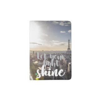 Lassen Sie Ihren hellen Shine - Paris-Pass-Halter Passhülle