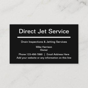 Lassen Sie Inspektion und spritzenservice ab Visitenkarte