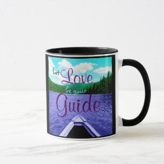 Lassen Sie Liebe Ihr Führer-Kanu auf See-Tasse Tasse