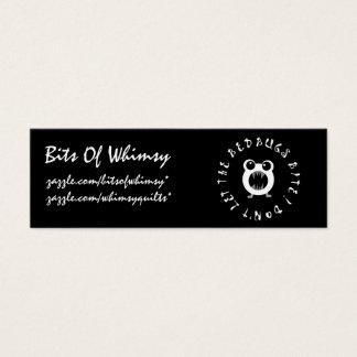 Lassen Sie nicht den Wanzen-Biss! Mini Visitenkarte