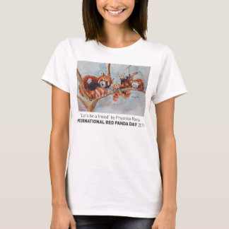"""""""Lassen Sie uns ein Freund-sein das T-Stück"""" der T-Shirt"""