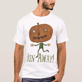 Lassen Sie wegkürbis zerstörten T - Shirt laufen