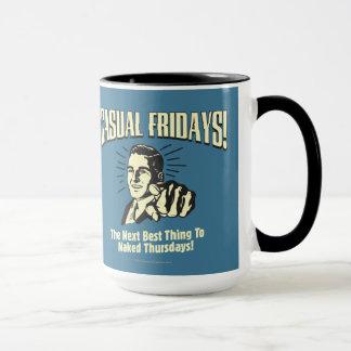 Lässige Freitag: Nackte Donnerstage Tasse