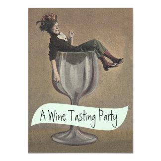 Lässige Glas-Probieren-Party Einladungen