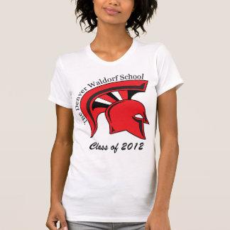 Lässiger die Schaufel-T - Shirt der Frauen