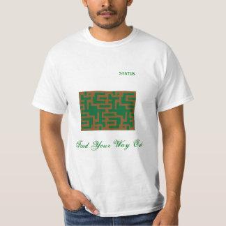 lässiger und trendy T - Shirt