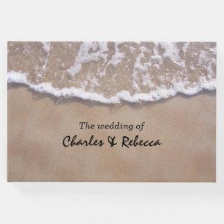 Lässiges Strand-Thema-Hochzeits-Gast-Buch Gästebuch