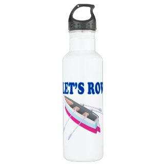 Lässt Reihe Trinkflaschen