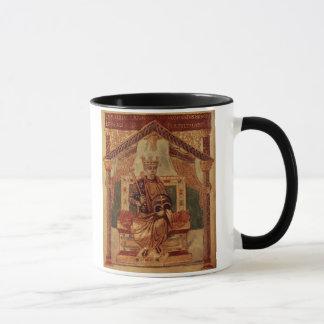Lat 1152 f.3v Karl der Große (Carolus Magnus, Tasse