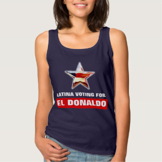 Latina, das für EL Donaldo wählt Tank Top