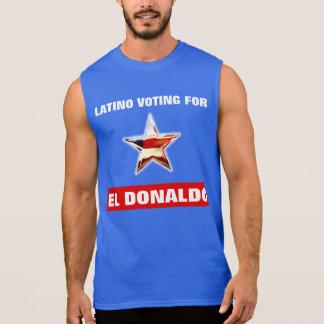 Latino, der für EL Donaldo wählt Ärmelloses Shirt