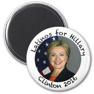 Latinos für Hillary Clinton - 2016 Runder Magnet 5,1 Cm