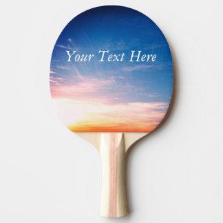 Laufen der Wolken Tischtennis Schläger