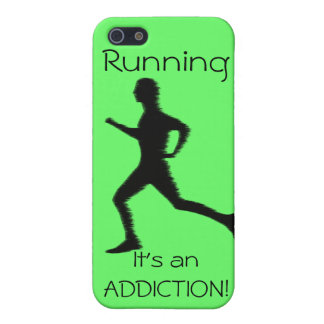 Laufen - es ist eine SUCHT! iphone4 Etui Fürs iPhone 5
