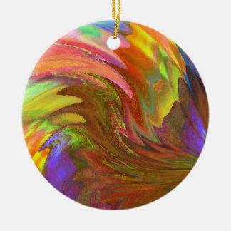 Laufen Sie den Sun Keramik Ornament