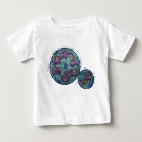 Laufen Sie nie, wenn Sie erschrocken werden! Baby T-shirt