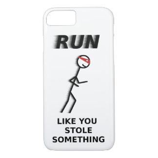 Laufen Sie wie Sie stahl etwas iPhone 6/6s Fall iPhone 8/7 Hülle