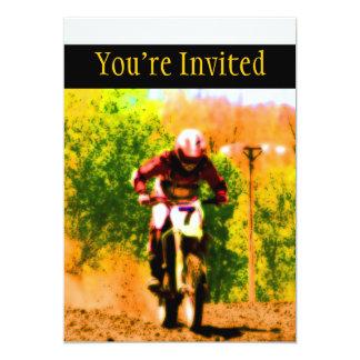 Laufen von Dirtbike Draufgänger Karte