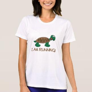 Laufende Schildkröte T-Shirt