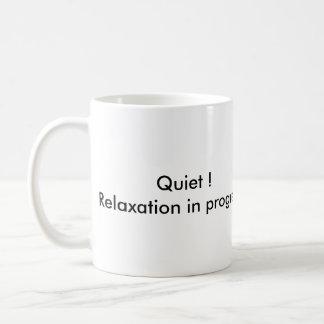 laufende Tasse des Entspannung