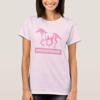 "Laufender Pferde""Pferdestärken"" Girlie T - Shirt"