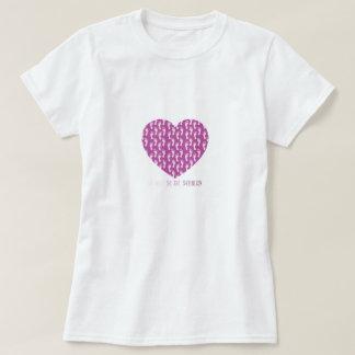 Laufendes Herz-T-Stück T-Shirt