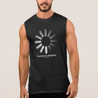 Laufendes laufendes -   laufende Fitness - .png Ärmelloses Shirt