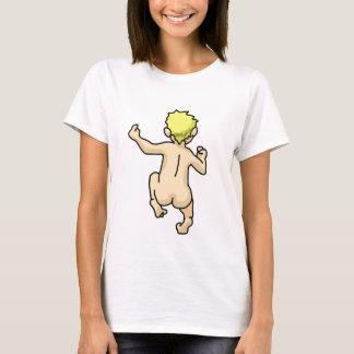 Laufendes nacktes T-Shirt