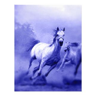 Laufendes Pferd Flyerdesign