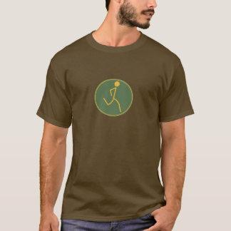 Läufer (Grün/Orange) T-Shirt