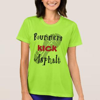 Läufer-Tritt-Asphalt Sport-Tek SS T-Shirt