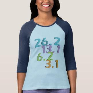 Läufer überholt 3,1, 6,2, 13,1 und 26,2 T-Shirt