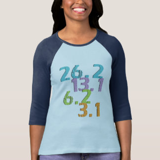Läuferabstände T-Shirt