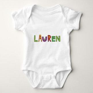 """""""Lauren"""" Monster-Buchstaben Baby Strampler"""