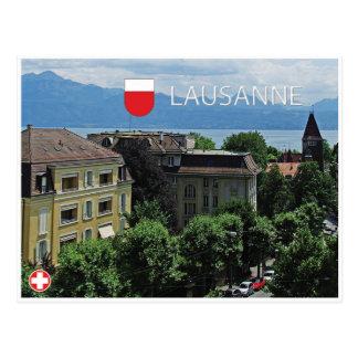 Lausanne- - Schweiz-Postkarte Postkarte