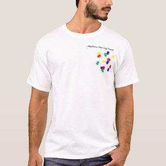 L'autisme, a mon coeur t-shirt