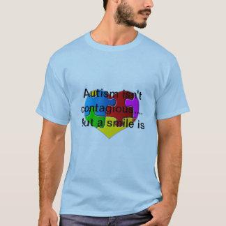 L'autisme n'est pas contagieux… T-shirt