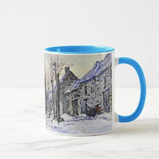 Lavacourt unter Schnee-Tasse Tasse