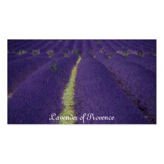 Lavande de la Provence Carte De Visite Standard