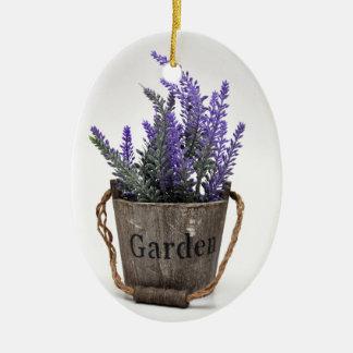 lavander keramik ornament