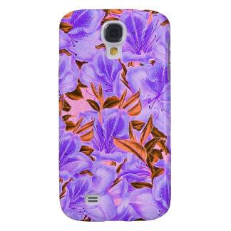 Lavendel-abstrakte Blumen Galaxy S4 Hülle