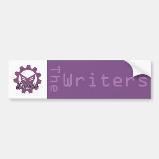 Lavendel: Der Verfasser-Autoaufkleber Autoaufkleber