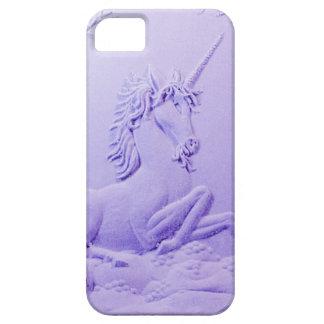 Lavendel-Einhorn in der Waldlichtung durch Sharles Schutzhülle Fürs iPhone 5