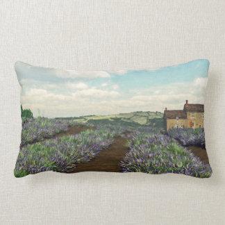 Lavendel fängt lumbales Wurfs-Kissen auf Lendenkissen